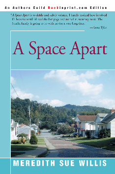A Space Apart Back in Print Edition Book Cover Image